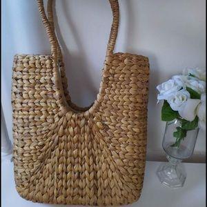 ISO Woven Bag with deep U